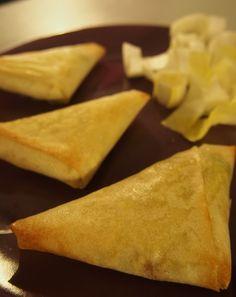 Samossas légumes Boursin jambon