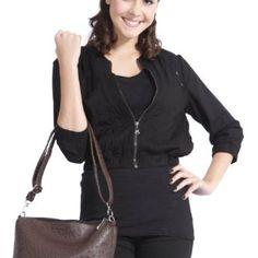 Doublju Womens Casual Long Sleeve Zip Jacket (WC049) $19.99