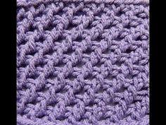 ▶ Punto # 5 en Crochet Tunecino - YouTube