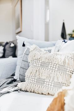 love the first pillow #DIYHomeDecorCollege