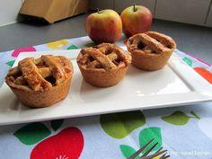 Kleine appeltaartjes in muffinvorm