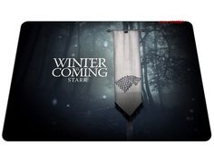 Winter is Coming Stark Game of Thrones Mousepad //Price: $13.99 & FREE Shipping //     #WinterIsComing