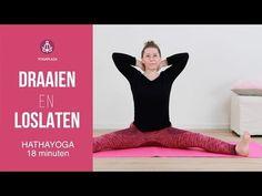 Draaien en Loslaten - YouTube Yoga Moves, Tai Chi, Yoga Fitness, Dna, Workout, Youtube, Flow, Stress, Sport