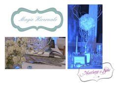 Décoration Mariage à Soie Décoration mariage, wedding, mariage en hiver, magie hivernale, ambiance tamisée, fleurs blanches, mariage blanc