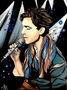 WOW painting of Mika done by a fan
