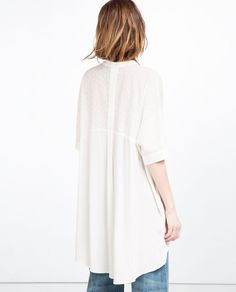 GUIPURE LACE TUNIC-View All-DRESSES-WOMAN   ZARA United States