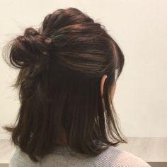 ボブ&ミディアムさんのマンネリ解消♡忙しい朝でもできる簡単アレンジ - LOCARI(ロカリ) Cut My Hair, New Hair, Hair Cuts, Shot Hair Styles, Curly Hair Styles, Hairstyles Haircuts, Pretty Hairstyles, Hair Inspo, Hair Inspiration