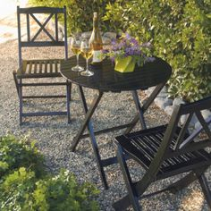 All-weather Folding Tables and Chairs - Grandin Road