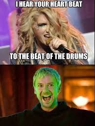 Here comes the drums