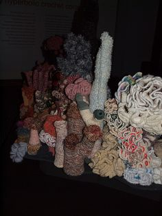 Love that coral branch with the other branches with their little bits on top. Different Colors, Platform, Colours, Sea, Texture, Branches, Crochet, Coral, Style
