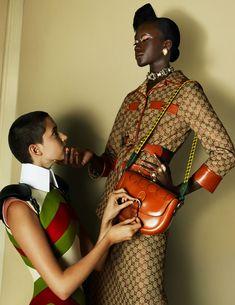 Enter a secretive and seductive atmosphere with Gucci's contemporary Aria campaign. #Gucci #GucciAria