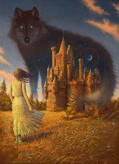 thefaeriefolk:  wolf by 25kartinok