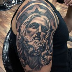 Salvator mundi the face of christ the last work of for Fred flores tattoo