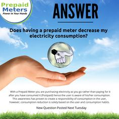 Answer 17: Does having a prepaid meter decrease my electricity consumption?