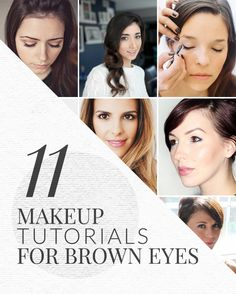 Brown-eyed girls, look no further. The best eye makeup tutorials for brown eyes to accentuate their color and make them pop.
