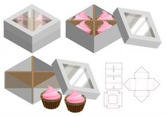 Find Box Packaging Die Cut Template Design stock images in HD and millions of other royalty-free stock photos, illustrations and vectors in the Shutterstock collection. Box Packaging Templates, Box Templates, Cupcake Packaging, Bag Packaging, Valentines Gift Box, Printable Box, Cupcake Boxes, Die Cut, Box Patterns