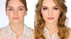 Grown Up Girly / Date Night  Makeup Tutorial- Lisa Eldridge- Bourjois Rose Vintage palette and alternate MUFE Aqua Eyes pencil in #4L and MUFE Aqua Cream in #16 for base.