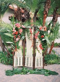 This tropical wedding is pure destination inspiration.