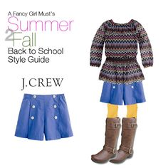 How to make sailor shorts work for your back to school wardrobe: Summer to Fall Style Guide | A Fancy Girl Must