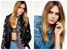 God Save the Queen and all: Cara Delevingne para TOPSHOP SS15 #topshop #ss15 #womenswear #caradelevingne