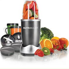 NutriBullet Nutrition Extraction System, As Seen on TV This would help out a lot...