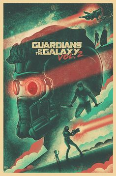 Guardians of the Galaxy Vol. 2 by The Brave Union