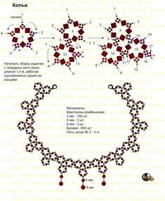 Колье) | biser.info - всё о бисере и бисерном творчестве