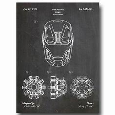 Máte už darček pre fanúšika Ironmana ? 😉  #ironman #marvel #tony #stark Stark Industries, Tony Stark, Iron Man, Marvel, Wall, Marvel Marvel