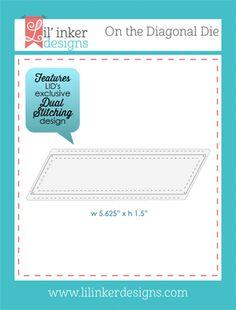 Lil Inker Designs On the Diagonal Die