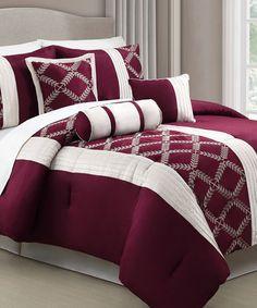 Another great find on #zulily! Julius Comforter Set #zulilyfinds