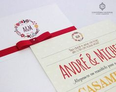 convite-casamento-16 Special Day, Wedding Invitations, Continue, Toque, Wedding Ideas, Mini, Wedding Website, Personalized Invitations, Thoughts