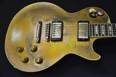 Snowy White's 57 Goldtop...a piece of rock n' roll history!!! - Les Paul Forum