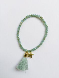 Armband Turquoise Tassel - Ibiza