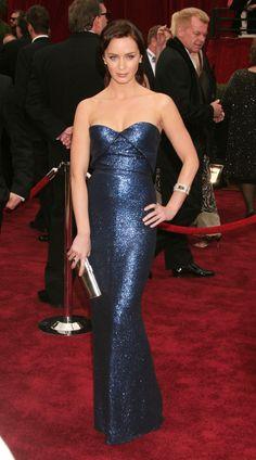 Emily Blunt - Oscars 2007, Calvin Klein. #redcarpet