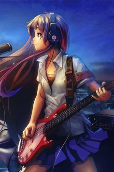 Anime - If @Laura Hay and i ever start a band . .  this would be her ! :D