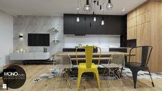 Jadalnia styl Industrialny - zdjęcie od Monostudio Wnętrza - Jadalnia - Styl Industrialny - Monostudio Wnętrza