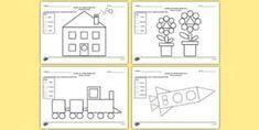 fise de lucru figuri geometrice clasa 2 didactic.ro - Căutare Google Floor Plans, Diagram, Education, Google, Geometry, Teaching, Onderwijs, Learning