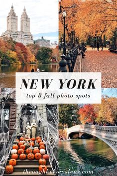 bucket list new york NYC Fall Photo Guide: Top 8 Fall Photo Spots Park Photography, Autumn Photography, Photography Guide, Nyc Fall, Autumn In New York, Nyc In The Fall, Fall City, New York Travel Guide, New York City Travel