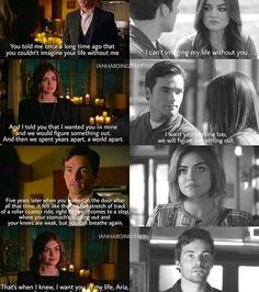 #Ezria Omg he proposed:0 and... She says yes Pretty Little Liars Meme, Preety Little Liars, Ezra And Aria, Ezra Fitz, Life Without You, Pll Memes, Abc Family, Favim, Best Shows Ever