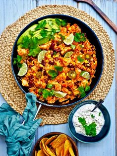 Texmex-kanapata — Peggyn pieni punainen keittio Yams, Sweet And Salty, Tex Mex, Paella, Curry, Food And Drink, Chicken, Dinner, Baking