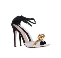 Giambattista Valli – Black & White Sandals