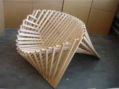 A Creative Design : Rising Chair by Robert van Embricqs