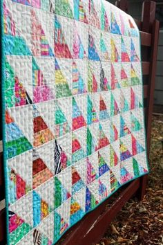 jelly roll quilts | Cindy made the Star Chain pattern from my book ... : jelly roll quilt books - Adamdwight.com