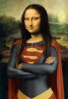 Super Mona Lisa, Supergirls great great great grandmother.