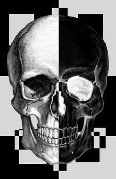 Yin Yang Skull.