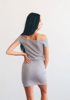 New York Bodycon - Grey  #kyliejenner #clothes #tumblr #outfit #kendalljenner #style