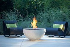 "Solus-Hemi 36"" by Solus Decor Firepit  http://www.solusdecor.com/fire-pits/firebowl-hemi-36/  Available in 26"" also"