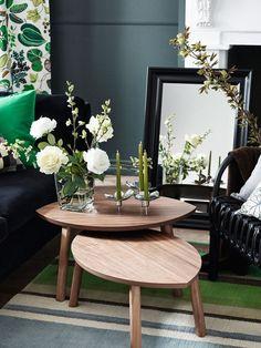 Ideas para decorar la #mesa de centro #salón
