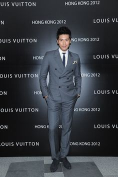 Godfrey Gao in LV. Do you like this?
