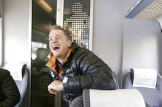 Laughing Tarjei Boe (NOR), biathlon